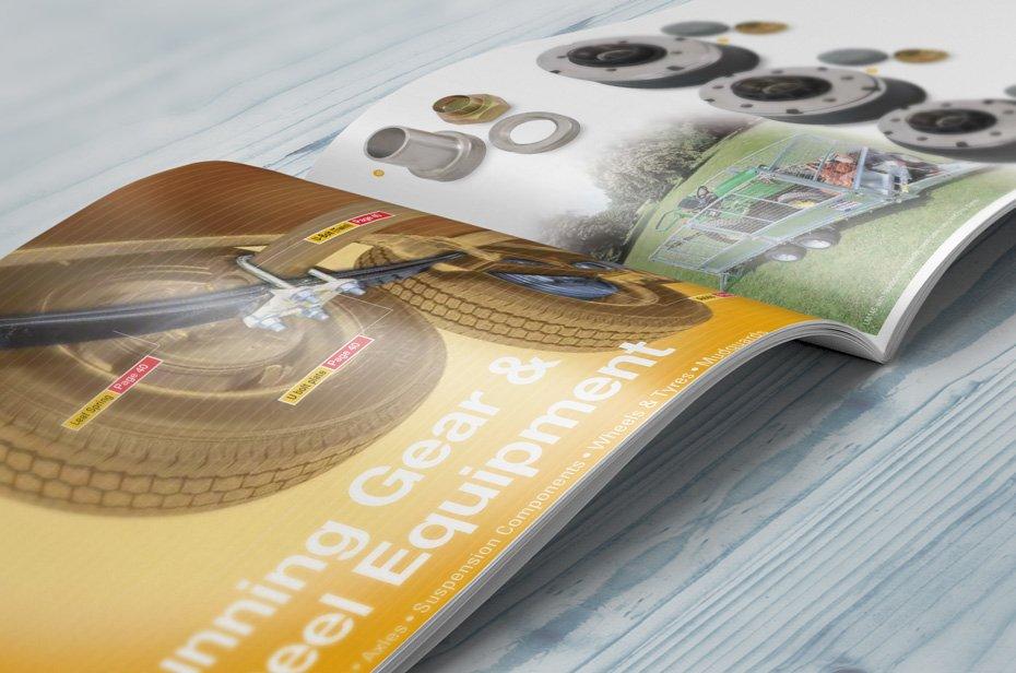 Reservedele og tilbehørs brochure
