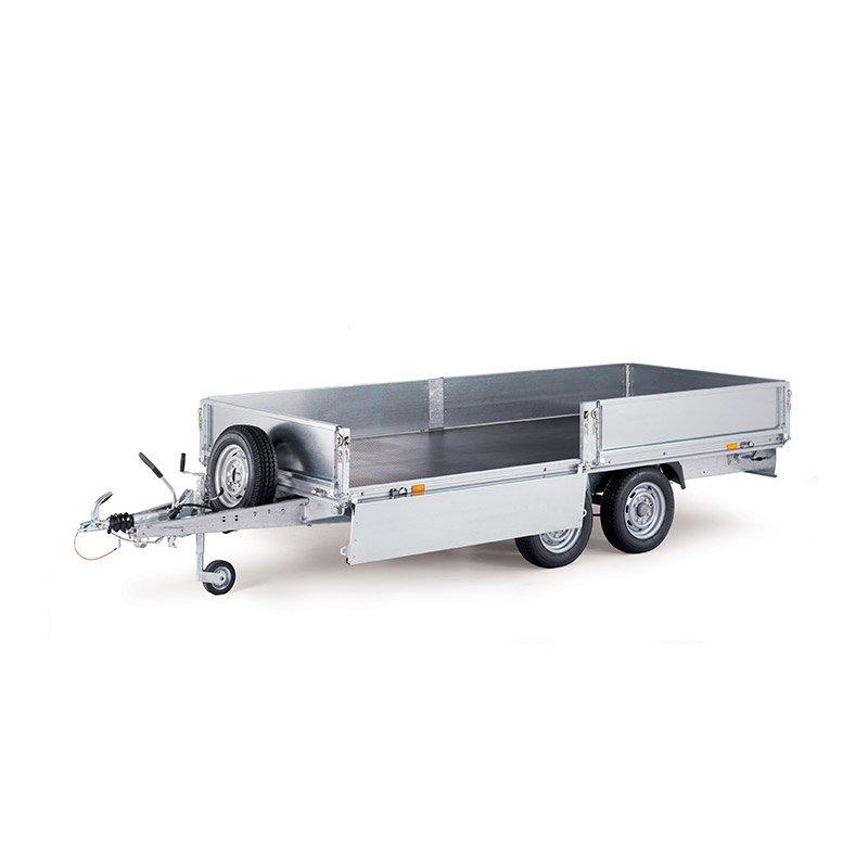 Ifor Williams EX202-3015 Eurolight Ladtrailer