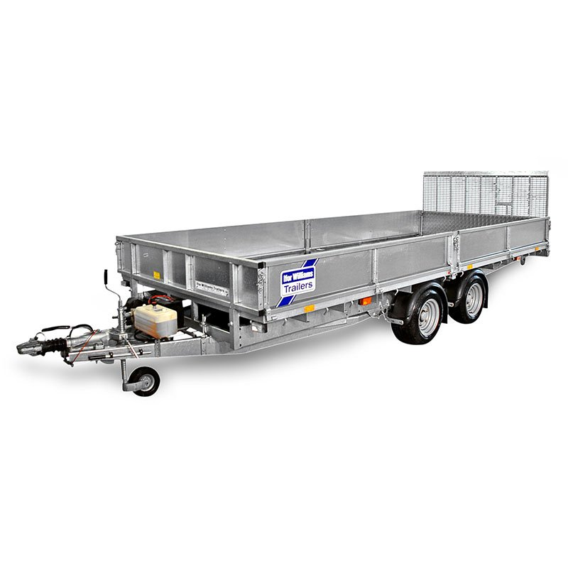 Ifor Williams CT167 Vippeladstrailer
