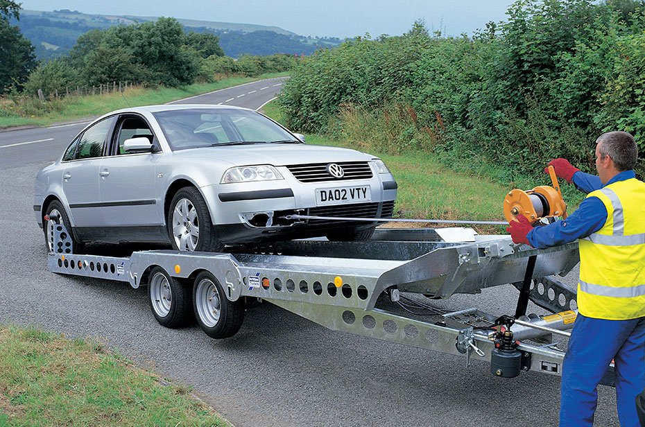 Autotrailer med vippefunktion