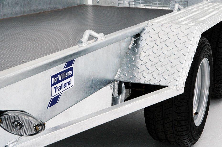 Fuldsvejst og varmgalvaniseret chassis